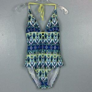 Bobbie Brooks  New Southwest Print Swimsuit Sz XL